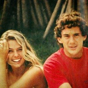 Galisteu postou foto antiga com Senna