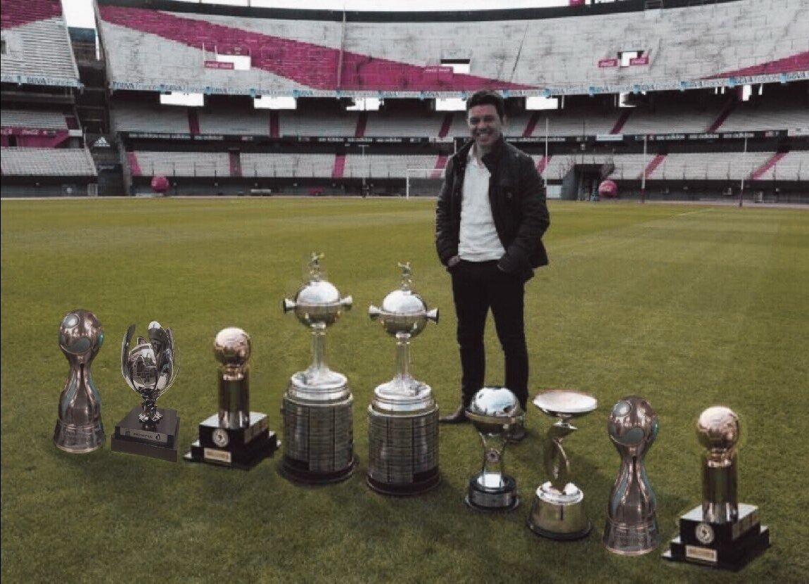 Gallardo. Colecionador de troféus pelo River Plate. Seis anos de conquistas e desgaste