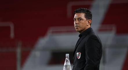 Gallardo ficou desapontado com a derrota
