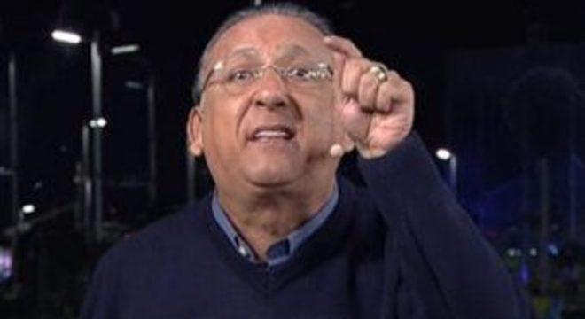 Galvão Bueno cada vez se sente melhor comentando do que transmitindo