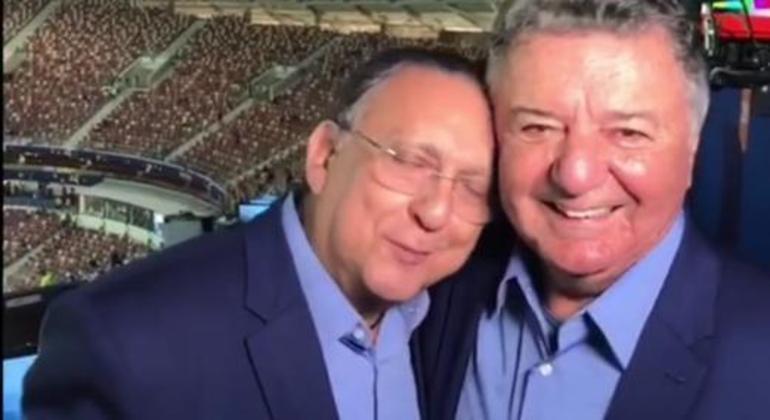 Galvão Bueno, assumidamente, nunca superou a saída de Arnaldo das transmissões da Globo