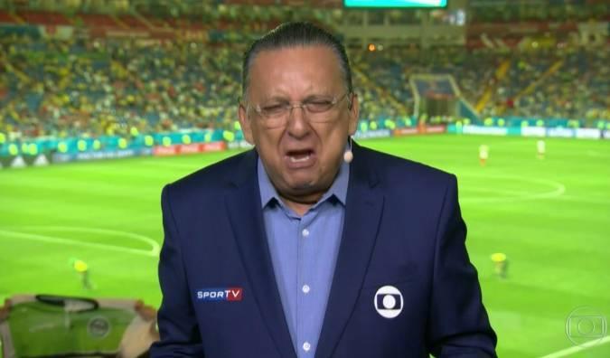 Galvão Bueno era reservado para a Libertadores. Sobraram Copa do Brasil e Brasileiro