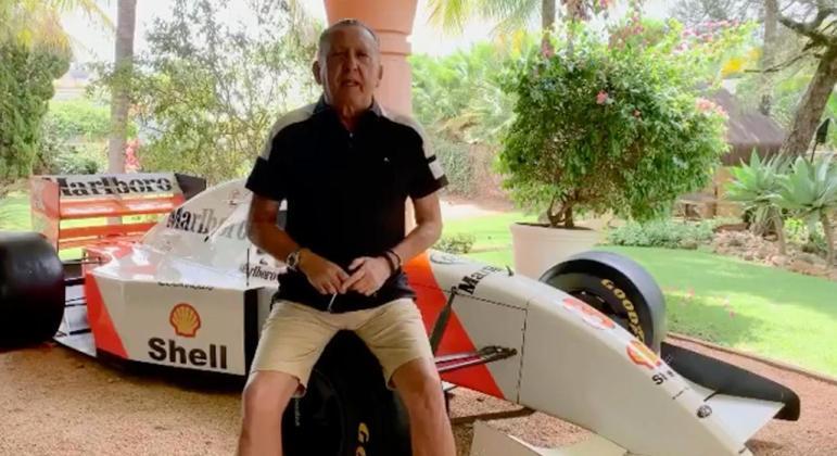 Galvão Bueno viu a Globo perder a Fórmula 1. Competição que era apaixonado