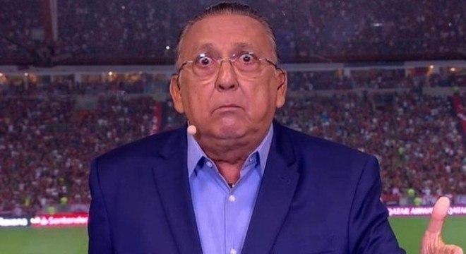 Galvão Bueno ficará bem longe da Libertadores da America