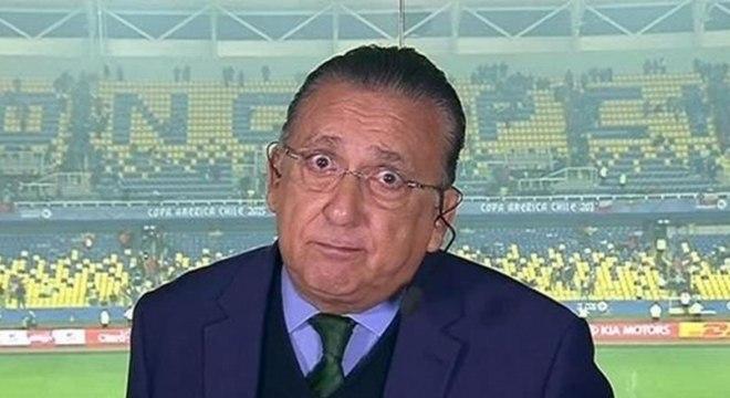 Prêmio Craque do Jogo já deixou Galvão Bueno constrangido em jogo do Brasil