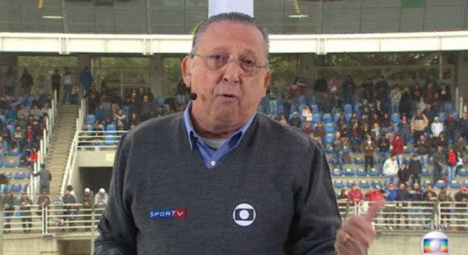 Galvão Bueno vai pendurar as chuteiras