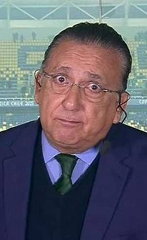 Galvão, mais de 60, poderá ficar de fora das primeiras transmissões da Globo