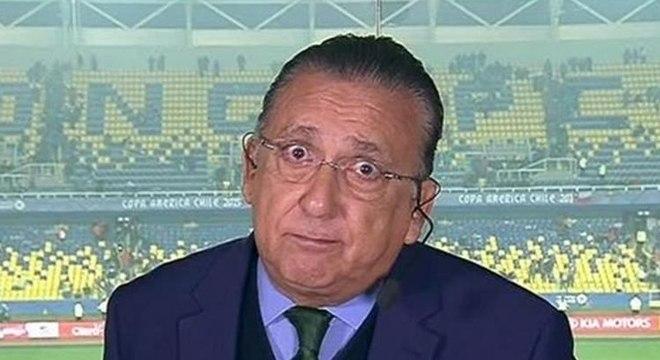 Galvão Bueno cometeu gafe com times ingleses