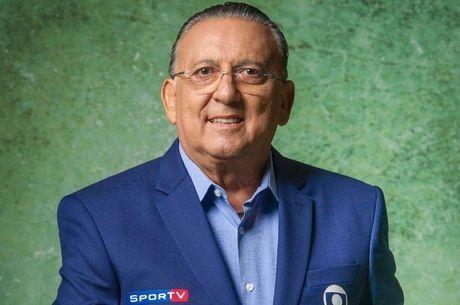 Galvão Bueno, narrador titular do esporte da TV Globo