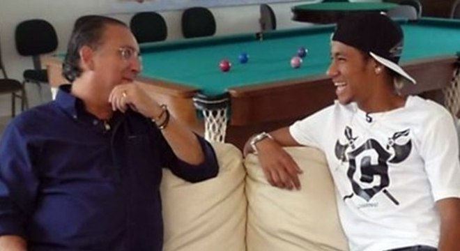 Galvão Bueno e Neymar se afastaram. Por críticas do narrador na Olimpíada de 2016