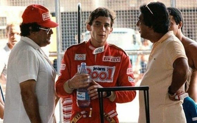 Galvão Bueno sempre foi bastante próximo de Ayrton Senna