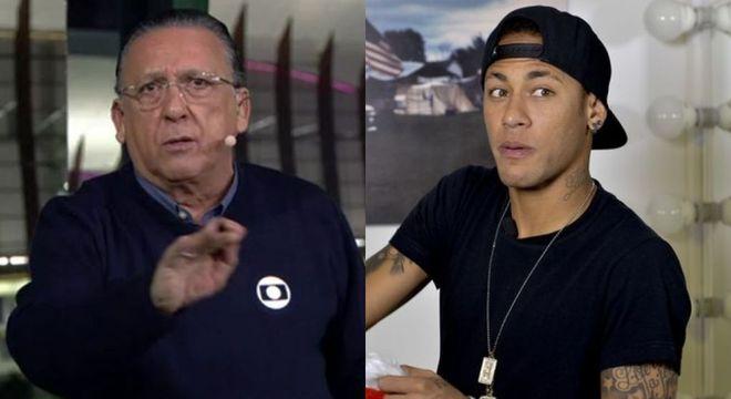 Acabou a relação 'paz e amor' de Neymar e Galvão