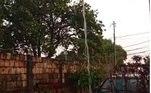 Chuva registrada no Gama, nesta sexta-feira (24)