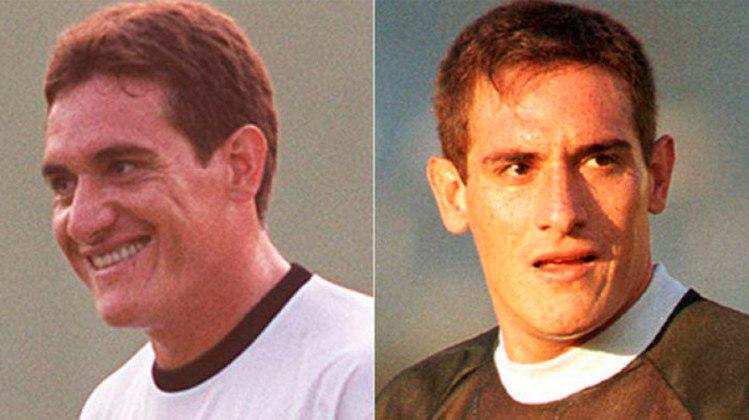 GAMARRA – O zagueiro paraguaio venceu um Campeonato Brasileiro com o Timão (98) e um Carioca com o Flamengo (2001).