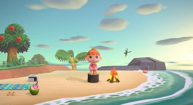 Animal Crossing: New Horizons foi coroado o melhor jogo para família