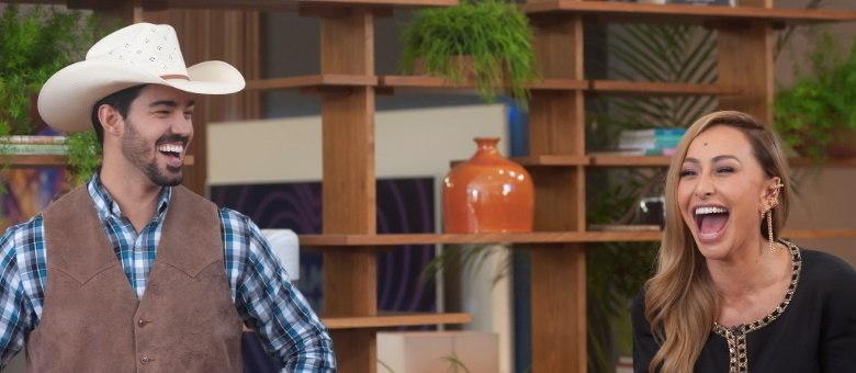 Sabrina Sato ajuda cowboy solteiro a encontrar sua parceira ideal