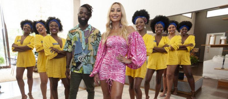 Sabrina Sato ajuda angolano professor de dança a encontrar um par ideal!