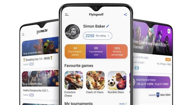 Plataforma permite que amadores criem e participem de torneios de games