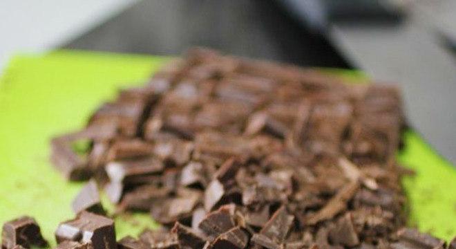 Ganache de Chocolate Meio Amargo