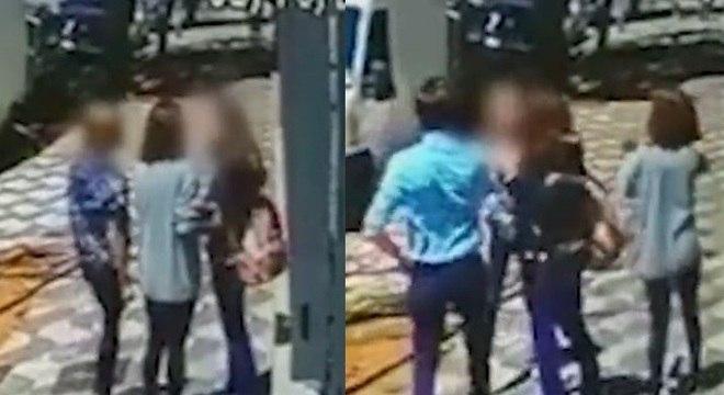 Vídeo mostra um dos ataque de gangue na região