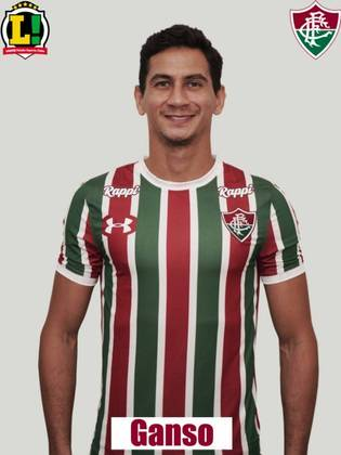 GANSO - 5,5 - Após um primeiro tempo apagado, o camisa 10 organizou o meio-campo do Fluminense na segunda etapa e conseguiu criar algumas jogadas para sua equipe. Apareceu pouco para finalizar em gol e só assustou o goleiro adversário em uma cobrança de falta.