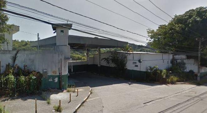 Garagem da viação TransUnião em Itaquera, zona leste de São Paulo