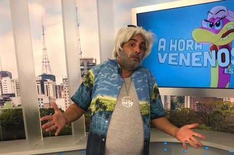 O produtor Miranda foi homenageado por Macos Souza