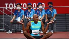 Atletas das Bahamas toma coroa deixada por recordista nos 400 m