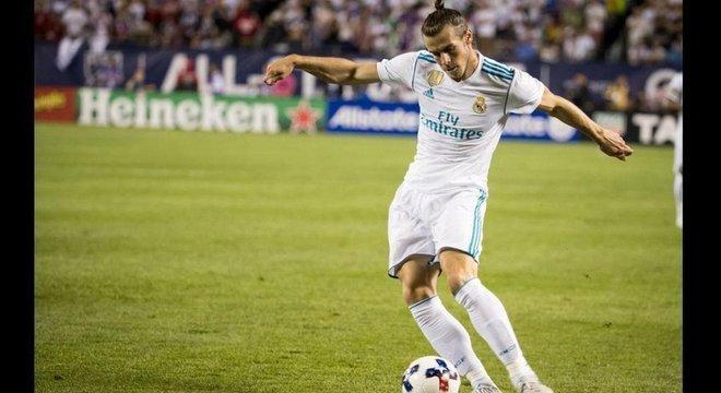 A compra do atacante galês Gareth Bale pelo Real Madrid custou 86 milhões de libras em 2013
