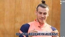 'Óvnis são 100% reais e já vi um deles', diz atacante Gareth Bale