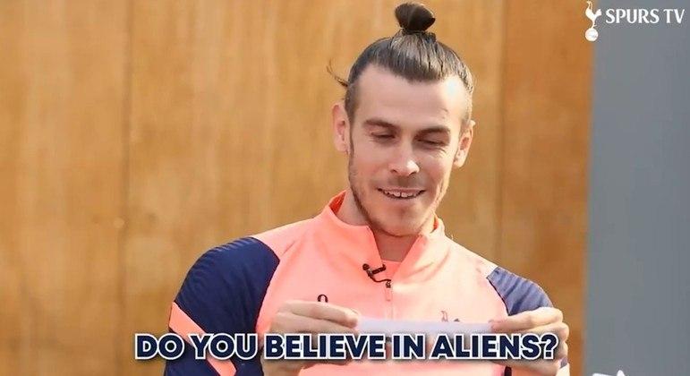 """Gareth Bale tem respostas definitivas sobre o tema """"aliens"""""""