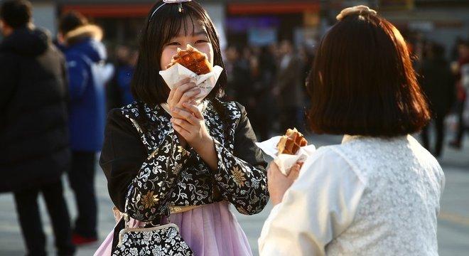A comida é um elemento crucial na cultura sul-coreana