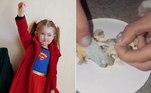A mãe de uma garotinha de 6 anos alega que a filha engasgou com um pedaço de máscara encontrado dentro de um nugget doMcDonald's