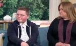 Na terça-feira (4), ele apareceu em um programa de televisão com o intuito de conscientizar as pessoas sobre o que vem enfrentando, segundo informações do site Daily Mail