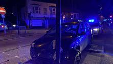 Garoto é preso após beber, bater carro do pai e cuspir em policial