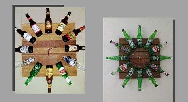 Garrafas na decoração: 7 opções criativas para reaproveitar os objetos