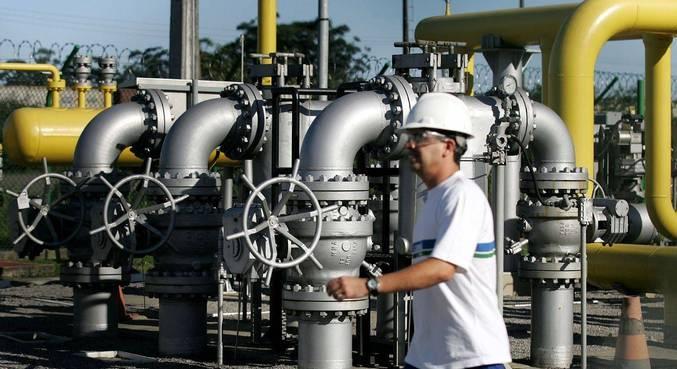 Instalações de gás natural em Cubatão