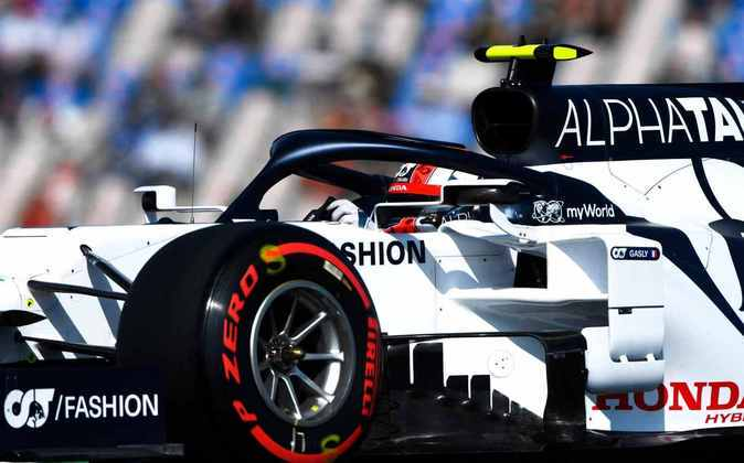 Gasly ficou com a nona posição no grid para o GP de Portugal com 1min17s803