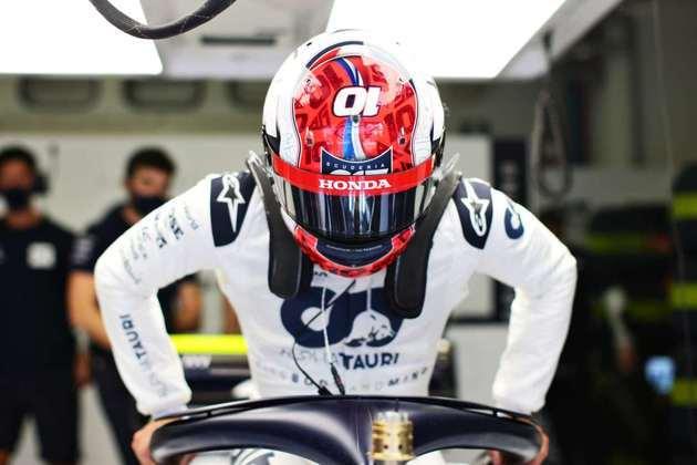 Gasly se preparando para voltar à pista após sua primeira vitória na Fórmula 1