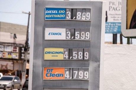 Preço do diesel não tem reajuste desde 22 de março