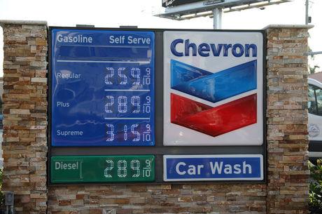 Preço da gasolina nos EUA já é o mais alto desde 2015