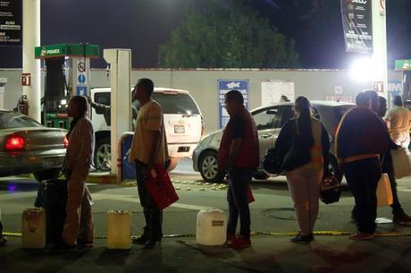 Já existem filas na Cidade do México