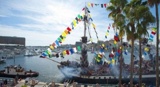 Gasparilla - Festa no litoral dos Estados Unidos