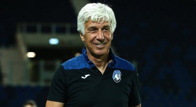 Gasperini, apesar do empate, um treinador feliz