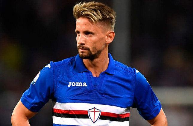 Gastón Ramírez - Clube: Sem clube (Sampdoria foi seu último clube)- Posição: meia - Idade: 30 anos - Livre no mercado desde: 01/07/2021