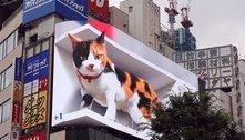 Estamos preparados para publicidades 3D? Pelo visto, não