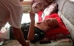 Fenghua ficou 23 dias no hospital, até receber alta esta semanaNÃO PERCA:Autoridades encontram casa com 118 gatos, fezes e filhotes mortos