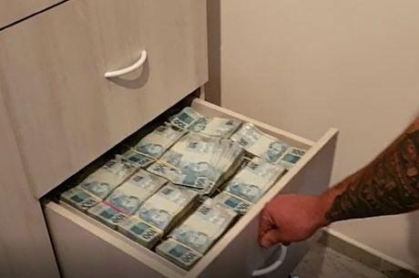 Operação apreendeu R$ 9 milhões em dinheiro