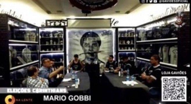 """Mario Gobbi na live da Gaviões. """"Time de m..."""" Jogadores estão revoltados"""