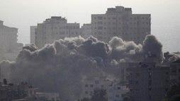 Israel e Gaza anunciam cessar-fogo após onda de violência matar quatro  ()